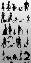 30 Silhouettes