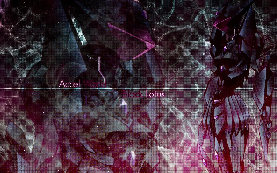 Accel World Wallpaper Black Lotus Burst Brain By Roselliana