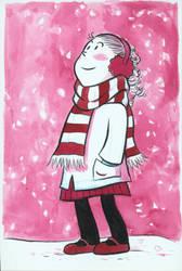 Pink snow by goraina