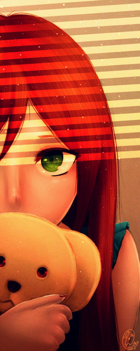 CT: Hiding with Kumo-chan by StarJita