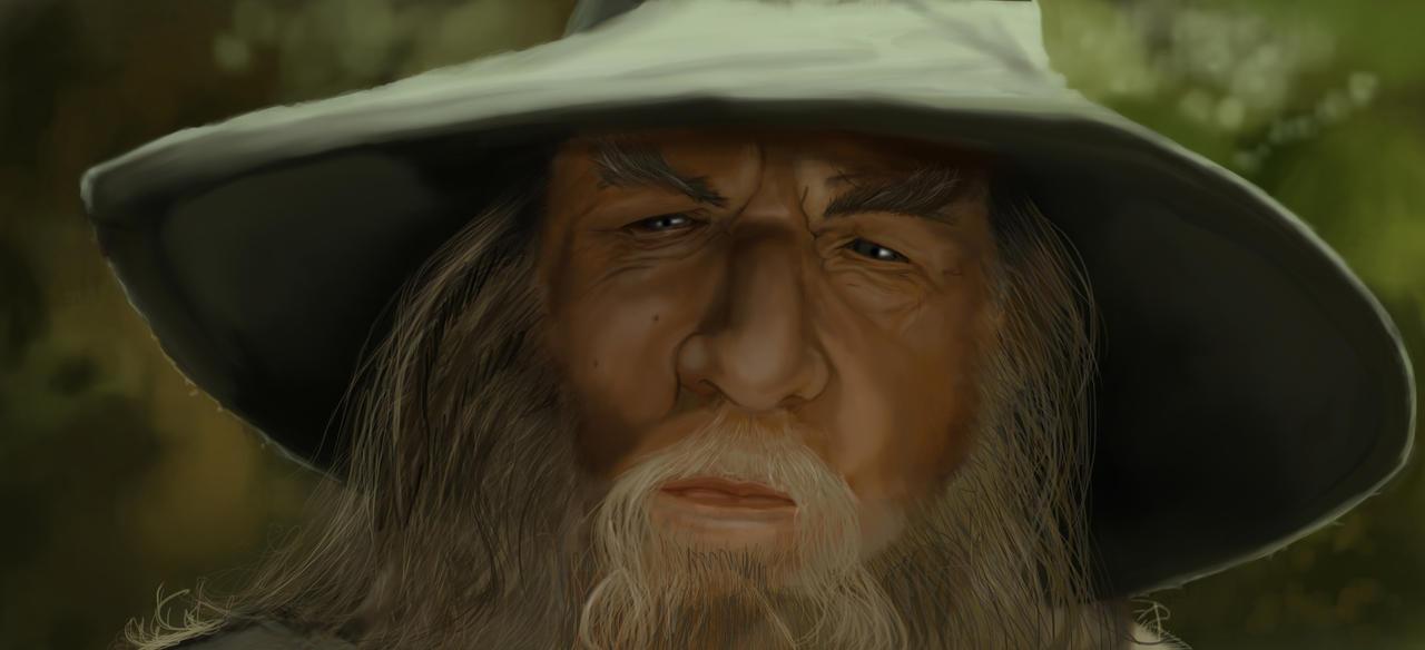 Gandalf by Caleblewis