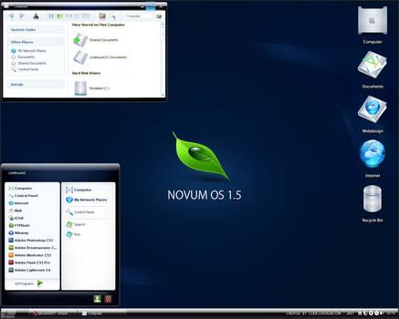 Novum OS 1.5