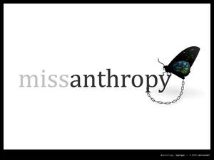 Miss Anthropy - Logotype
