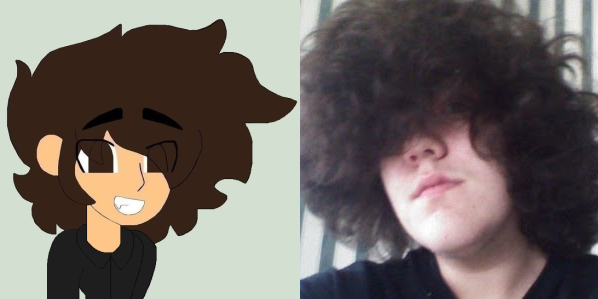 Me And My Anime Self by tristananimation