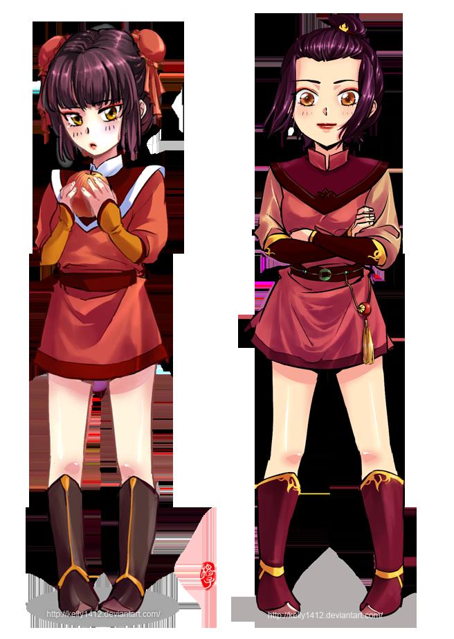 Loli Mai and Azula by kelly1412