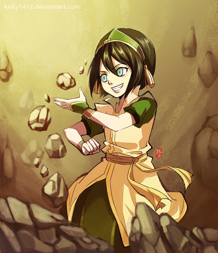 Avatar The Promise: Toph's New Outfit By Kelly1412 On DeviantArt