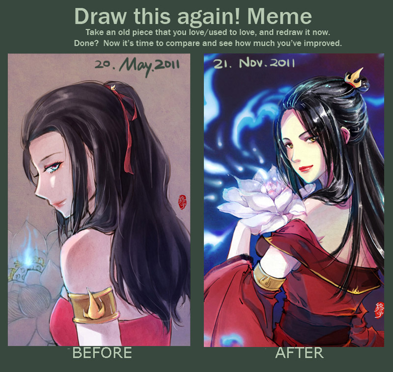 Draw this again Meme_6month by kelly1412