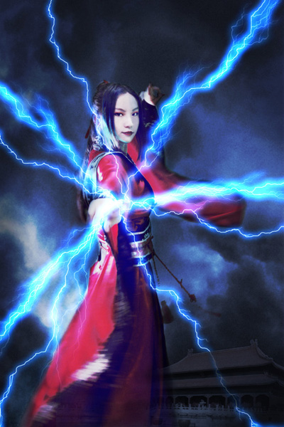 lightning effect test by kelly1412