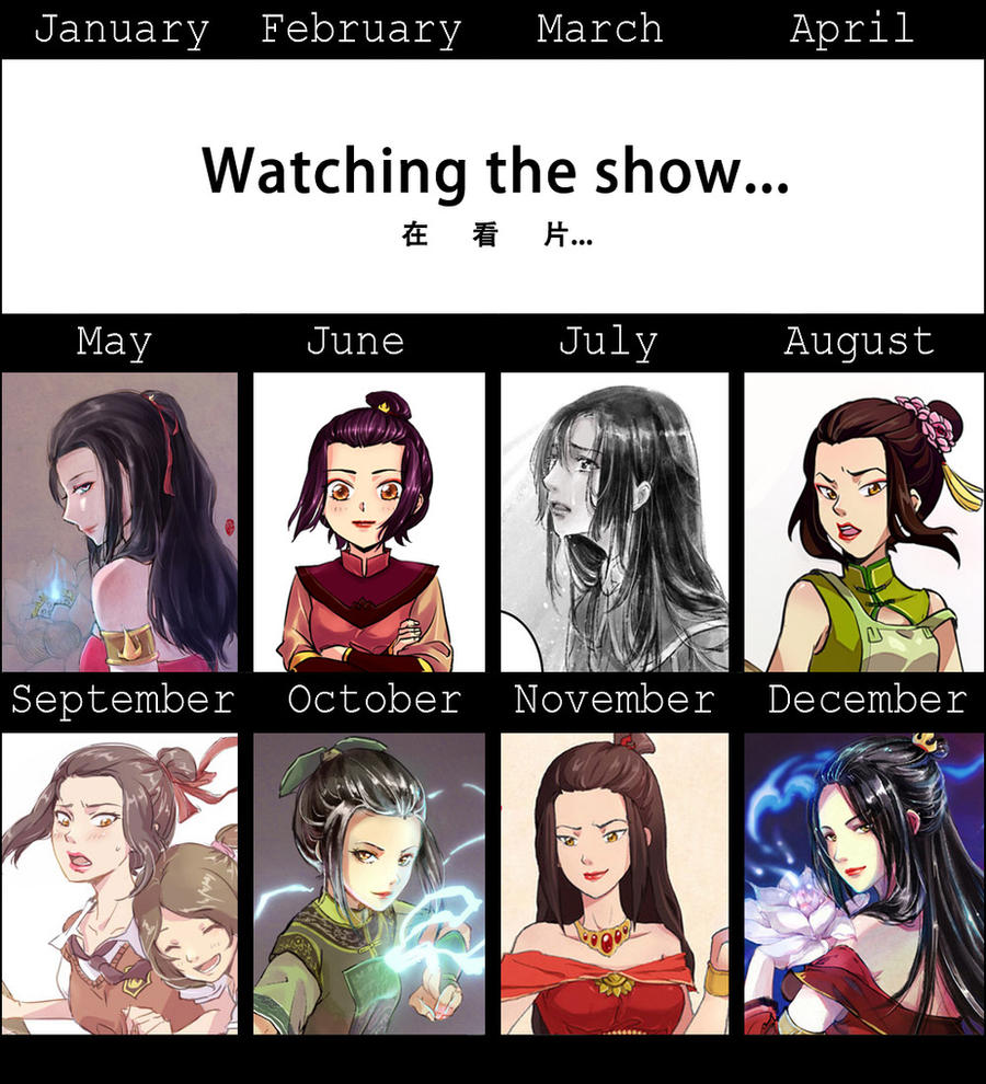 2011 Art Summary_ Azula ver. by kelly1412