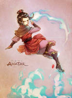 The Legend of Azula by kelly1412
