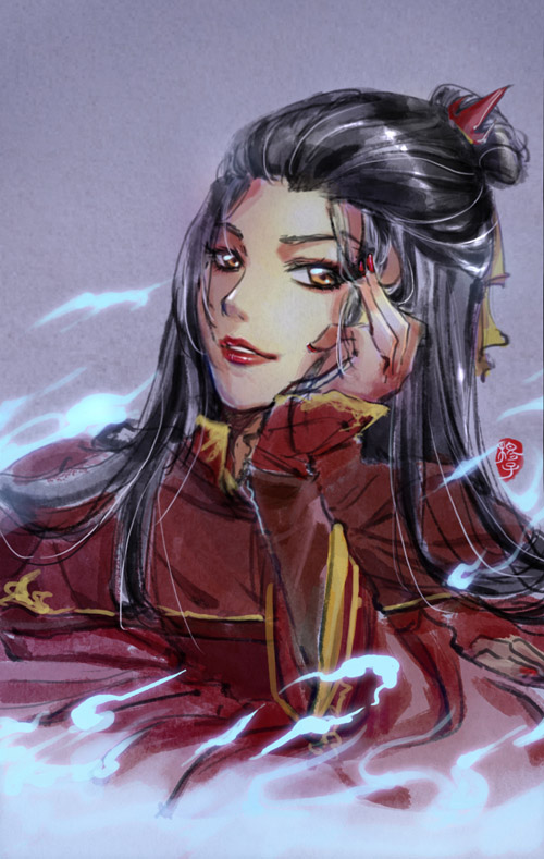Doodle grown up Azula by kelly1412