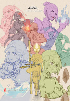 Come On Korra!!!_Sktech