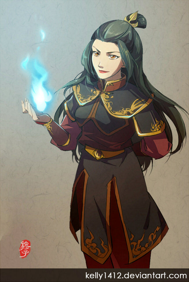 Master Azula by kelly1412