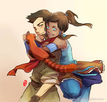 Makorra_hey Pabu by kelly1412