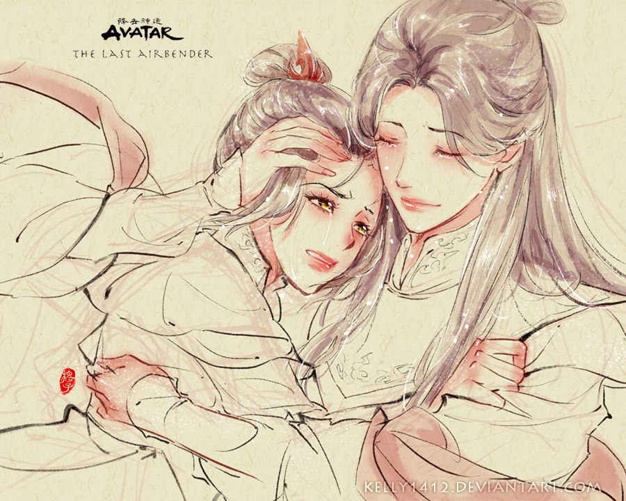 Mother and Daughter _ Ursa x Azula by kelly1412