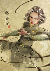 Lin BeiFong by kelly1412