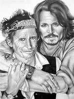 Johnny and Keith by abish