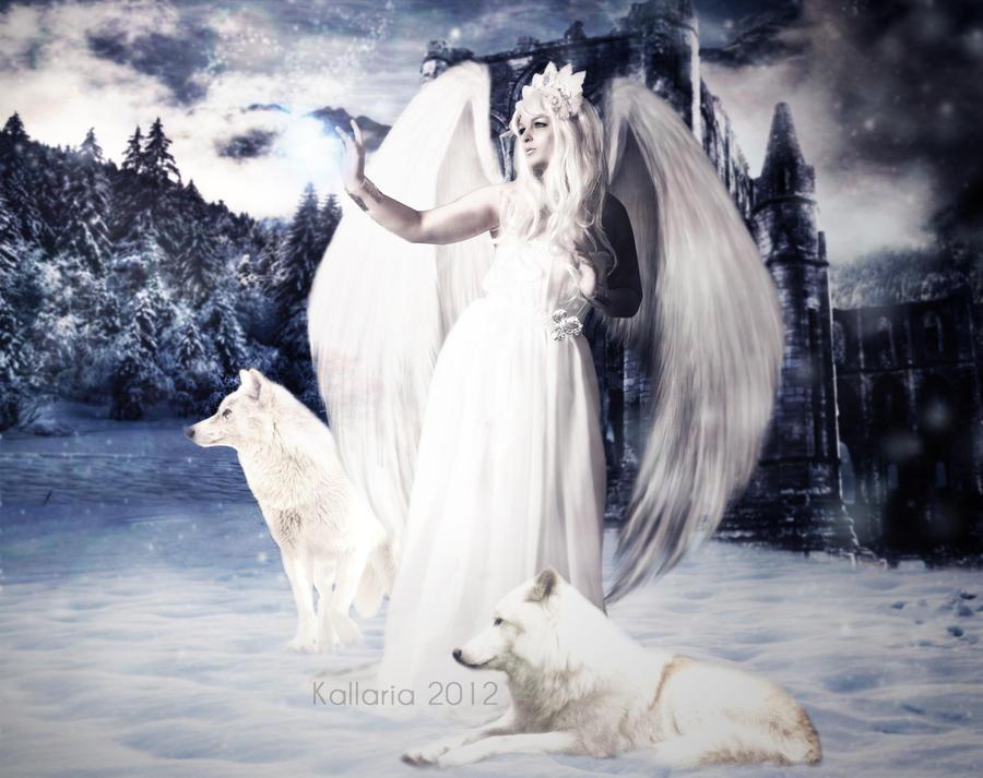 L'ange de l'hiver by Kallaria