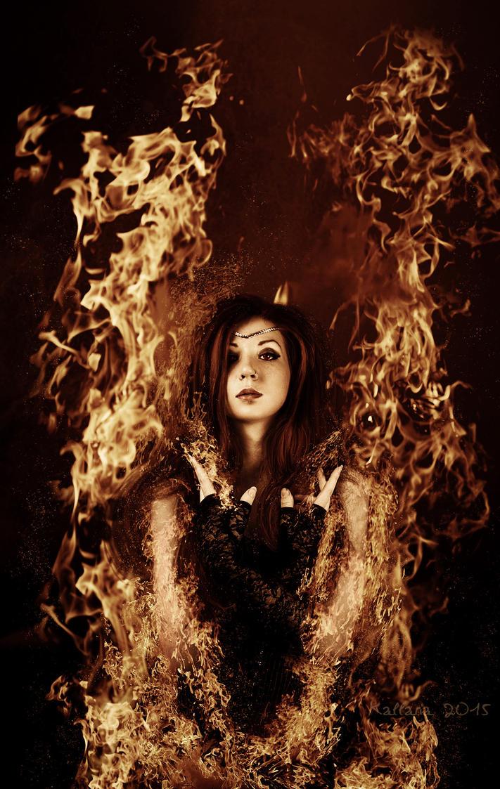 Fille du feu by Kallaria