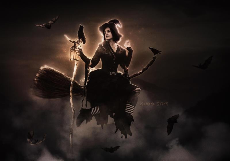Halloween Night by Kallaria on DeviantArt