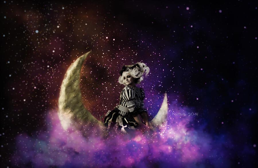 Mon Amie La Lune by Kallaria