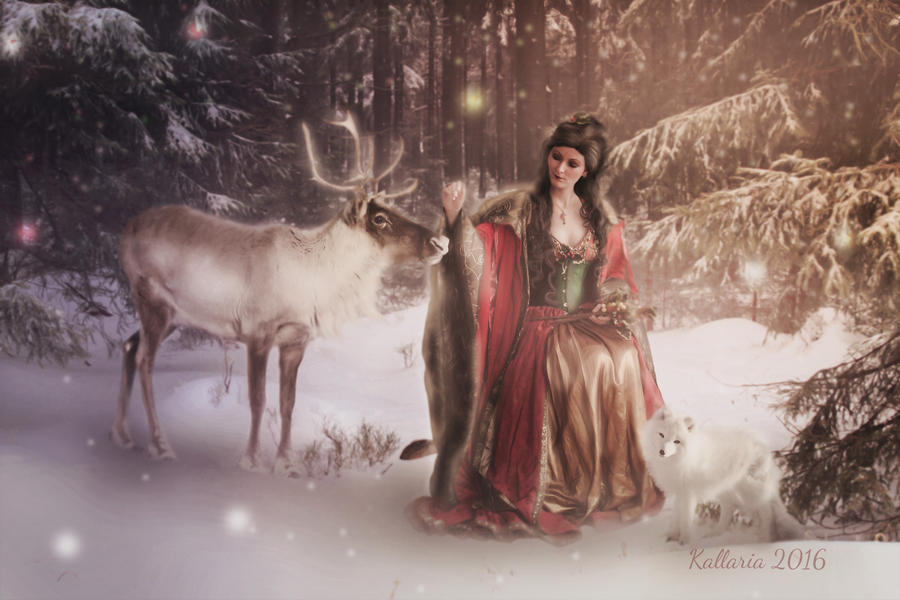 La Reine de l'hiver by Kallaria