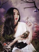 La Dame Aux Oiseaux by Kallaria