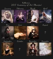 2017 Summary of art Manips by Kallaria