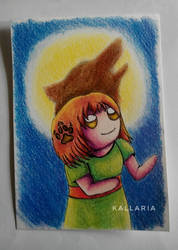 Be brave by Kallaria