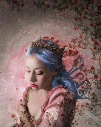 La Reine solitaire by Kallaria