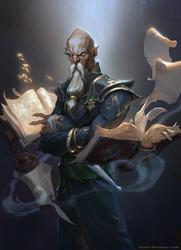 Old wizard by Skiorh