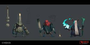 Chronos Creatures 1 by Skiorh