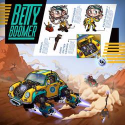 Radical Racer - Betty Boomer