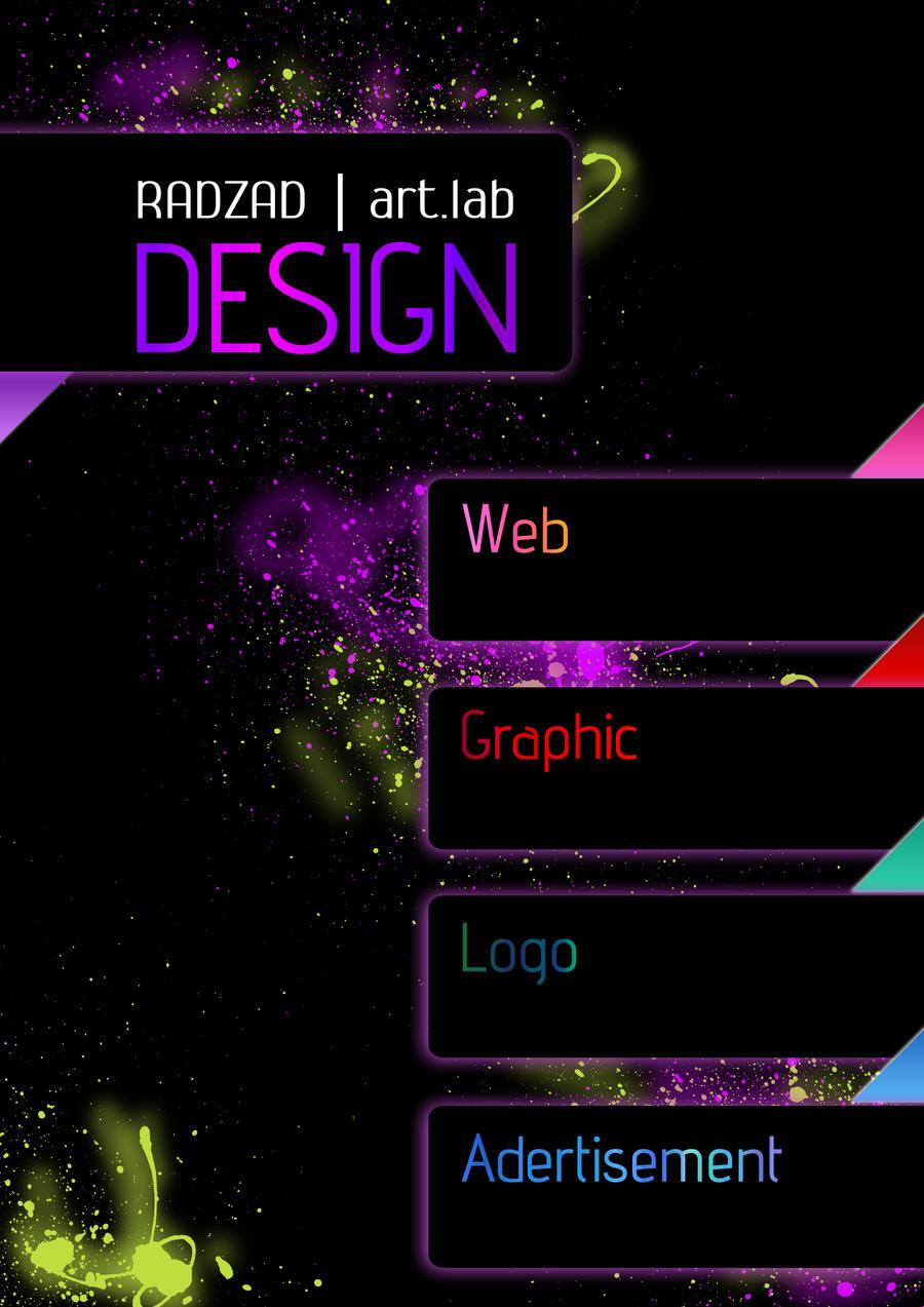 graphic designer advertisement by radzad on deviantart