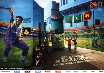 Cricket World Cup 2011 by radzad