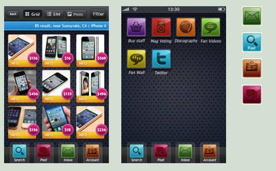 iPhone icon Theme