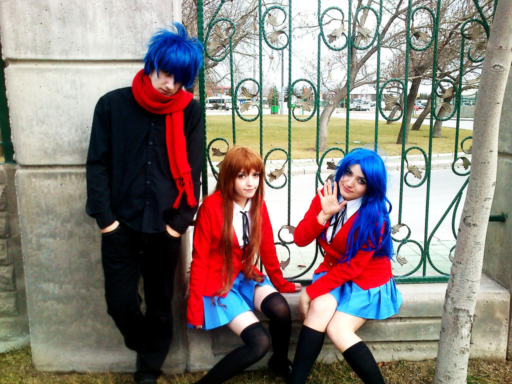 Taiga Ryuuji and Ami Cosplay 2 by DEATHNOTE---L on DeviantArt