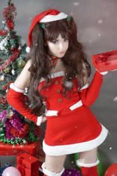 Christmas Rin Tohsaka Cosplay