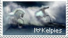 Kelpie Stamp by Chassie
