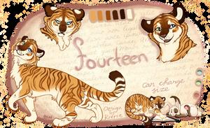 Fourteen by Cheetahfuzz