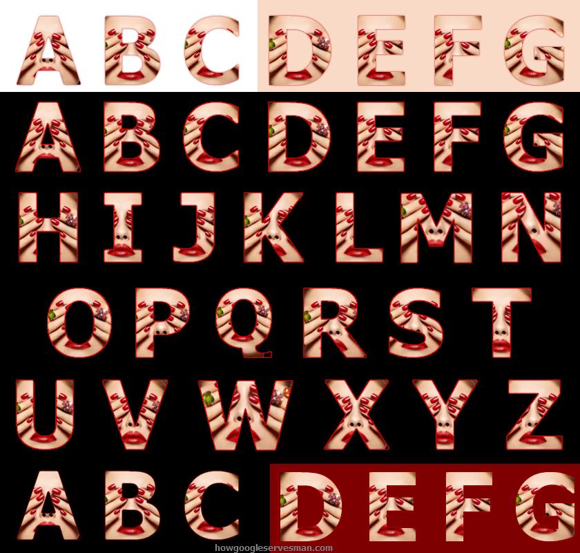 Letter Font Copy And Paste.Cut Copy Paste Alphabet Letters Fonts 4 By Leonardv2 On