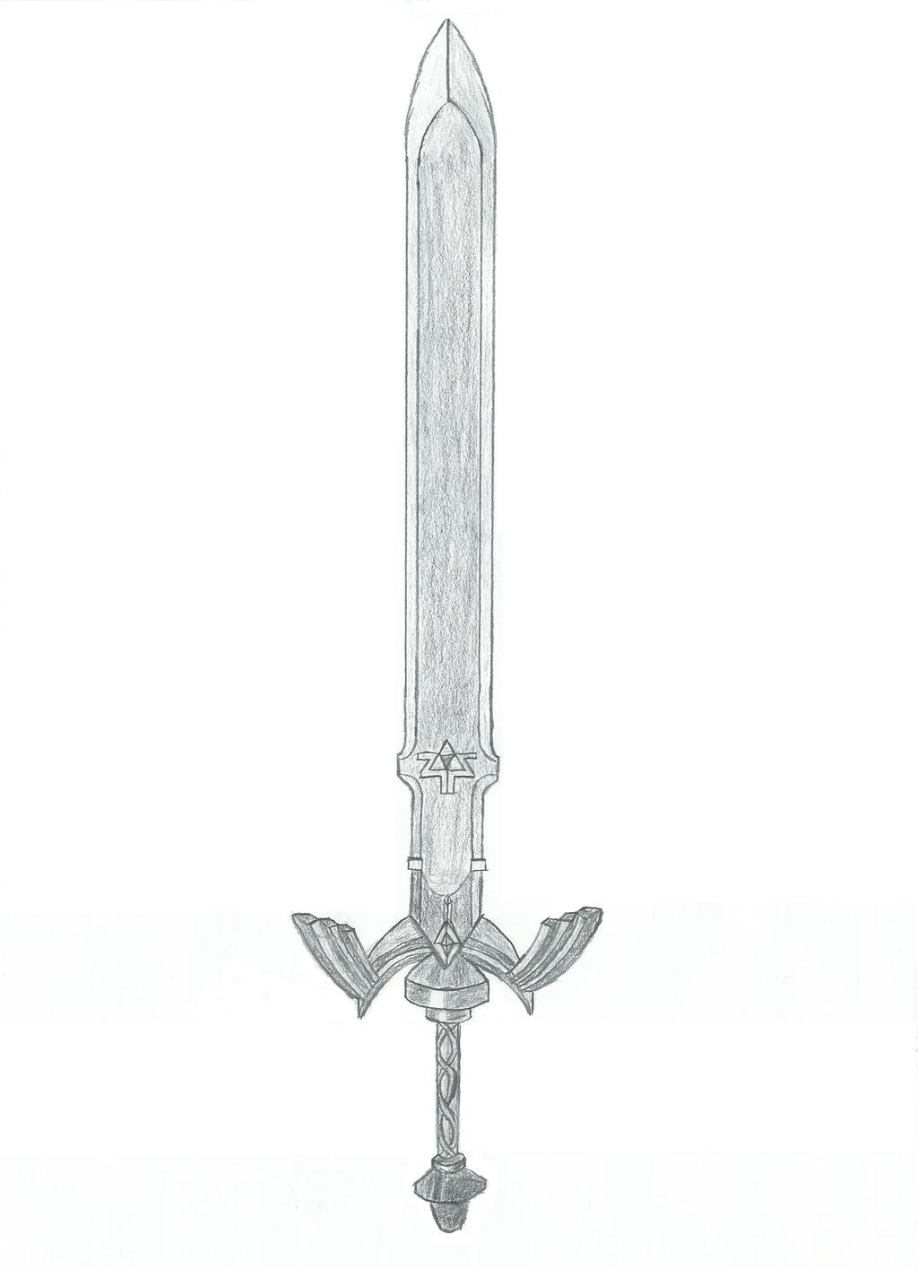 Master Sword by b-bubble-bop on DeviantArt