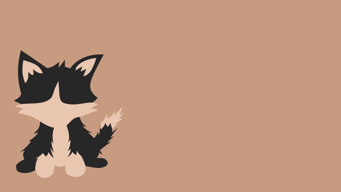 Minimalistic Cat Wallpaper by igniz98 on DeviantArt