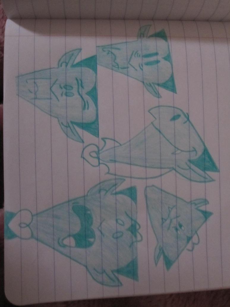 Vlad's Facial Expressions Sketches by QueenLioness7