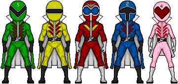 Himitsu Sentai Gorenger by ztyran
