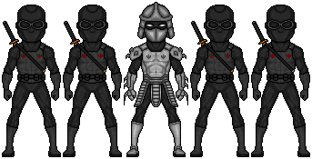 The Foot Clan by ztyran