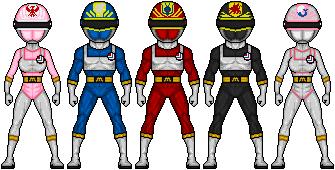 Dengeki Sentai Changeman by ztyran
