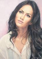 Megan Fox by vikygrafikk