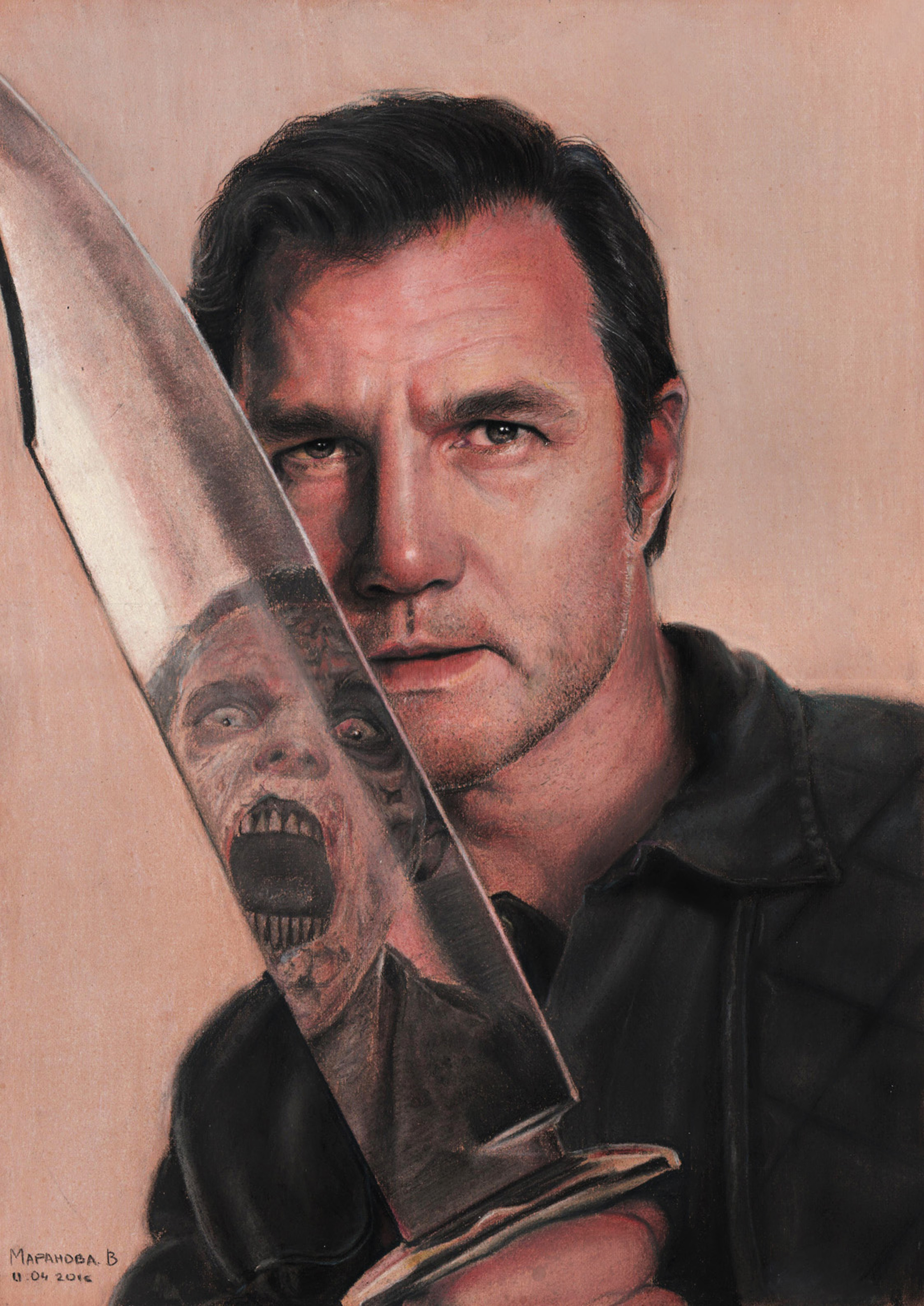 Philip Blake aka Governor (David Morrissey) by vikygrafikk