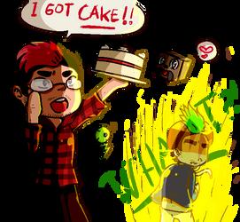 'I GOT CAKE!!'